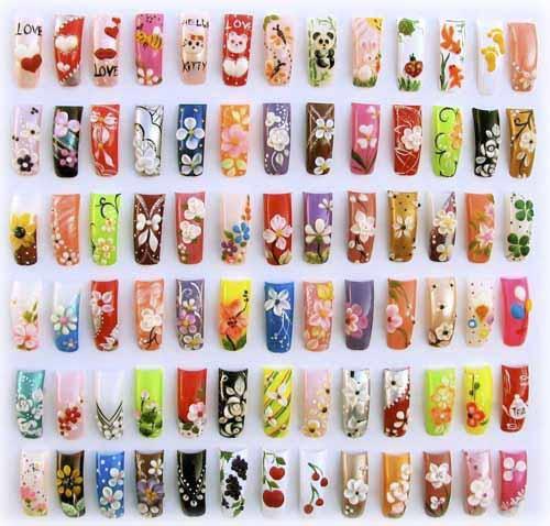 Наращивание ногтей френч картинки