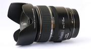 Объектив Canon EF-S 17-85mm IS USM + бленда + фильтр HOYA UV
