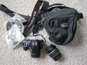 Продается зеркальная фотокамера Сanon 450D