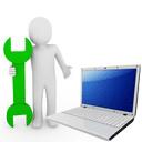 Обслуживание компьютерной техники в небольших организациях,  фирмах.