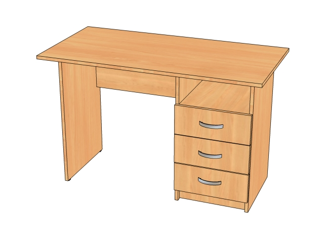 Столы письменные прямые и угловые со склада по низким ценам .