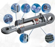 Ремонт гидроцилиндров рулевого управления погрузчика.