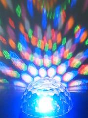 Цветомузыка для активного отдыха LED Magic Ball Light