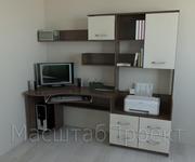 Компьютерный стол + книжный шкаф,  полки РМ-03.2