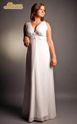 полным девушкам  вечерние наряды и свадебные платья