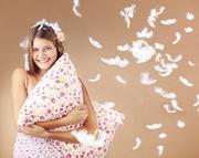 Новая жизнь для пухо-перовых подушек, одеял.