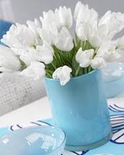 Тюльпаны к 8 Марта.Гиацинты и крокусы в горшочках к 8 Марта.