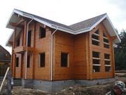 Строительство деревянных домов из профилированного бруса. Качественно