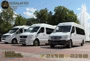 автобусы на свадьбу Минск,  прокат автобусов на свадьбу.