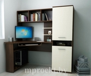 Компьютерный стол + тумба + шкаф-стеллаж РМ-03.18