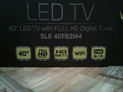 Новый телевизор LED 40'' (102 см) SMART TV,  WI-FI