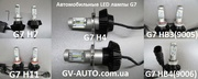 Автомобильные LED лампы  G7