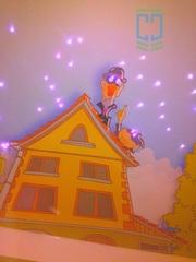 Звездное небо на натяжном потолке от компании Статум Строй