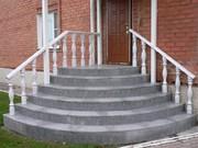 Бетонные лестницы любых размеров и форм,  разных уровней сложности!