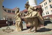 Живые статуи аниматоры на свадьбу день рождения встречу гостей корпора