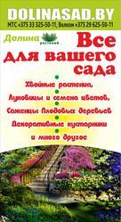 Растения оптом и в розницу в Минске. Доставка. С гарантией.