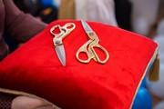 Аренда ножниц на подушечке для торжественного открытия