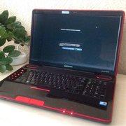 Для 3D-графики/игр ноутбук TOSHIBA Qosmio X505-Q887. В отл. сост.