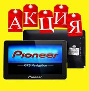 НОВИНКА GPS-навигатор Pioneer PM-84HD + бесплатная установка программ