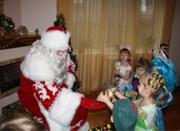 Дед Мороз и Снегурочка в Новый год