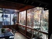 Защитные шторы  из прозрачного ПВХ (мягкие окна)