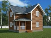 Недорогие каркасные дома за 1 месяц
