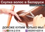 Продать волосы в Минске.