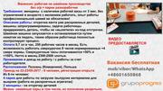 Рабочий на производстве,  мужчины и женщины,  Польша