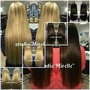 Безопасное наращивание волос на кератине