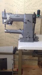 ADLER 69 рукавная машина по пошиву кожи