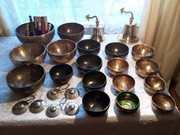 Продаю поющие чаши из Тибета,  настоящие кованые