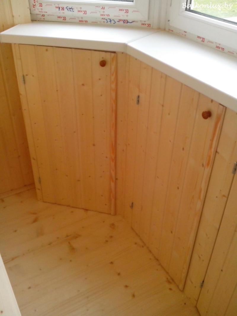 Делаем деревянный пол на балконе выбор материала, минск, цен.