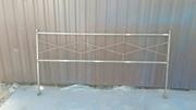 металлическая ограда ритуальная