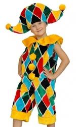 карнавальные костюмы меховые детям-шут, божья коровка, болонка, белка