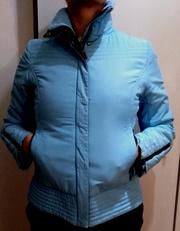Куртка женская,  голубого цвета. Деми.