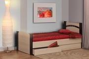 Кровать односпальная Олмеко-900,  с ящиком.