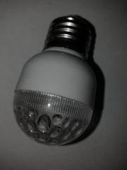 светодиодная лампа  1 Вт Е-27