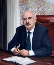 Портрет масляными красками. Доставка по Минску бесплатно.