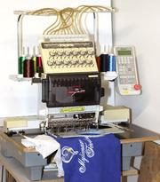 промышленная вышивальная машина  TOYOTA EXPERT AD860
