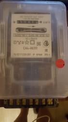 электросчетчик б/у,  продаю,  трехфазный,  индукционный,  СА4-И699, 50-100А