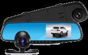 Видеорегистратор-Зеркало с камерой заднего вида Vehicle Blackbox DVR
