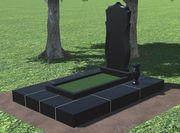 Благоустройство на кладбище