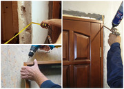 Монтаж межкомнатных дверей в Минске.