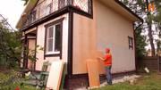 Утепление и отделка фасадов домов,  коттеджей,  любых зданий