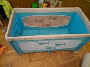 Детская складная ''travel'' кровать -манеж JETEM