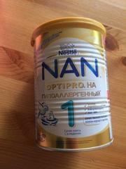Сухая смесь Nan гипоаллергенный 1 Optipro с доставкой