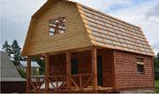 Построим двухэтажный дачный Домик по проекту из бруса 6х8