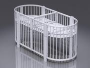 Кроватка для двойни 8 в 1