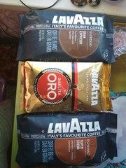 Кофе LAVAZZA ОРО-КРЕМА-ГРАН-ЭСПРЕССО зерно1кг =15.5уе. из Финл
