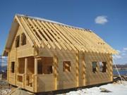 Строительство деревянных домов,  бань из бруса